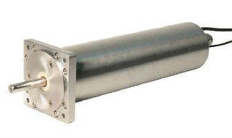 Integrated Servo Motor features stainless steel construction.