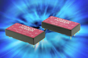 DC/DC Converters feature efficiency up to 92%.