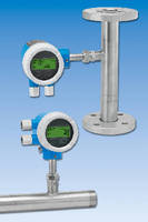 Thermal Mass Flowmeter  measures plant utility gases.