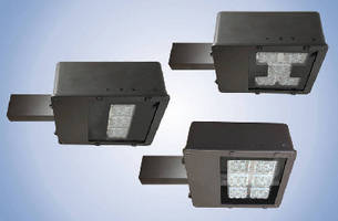 DLC-Approved LED Area Lights replace metal halide fixtures.