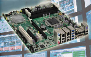 Micro-ATX Motherboard suits multimedia display applications.