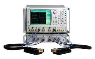 Broadband VNA System has 4-port measurement capability.