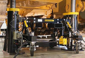 Lift System safely elevates dozers for maintenance.