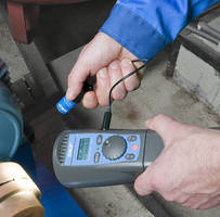 Portable Stroboscope enables interruption-free inspection.