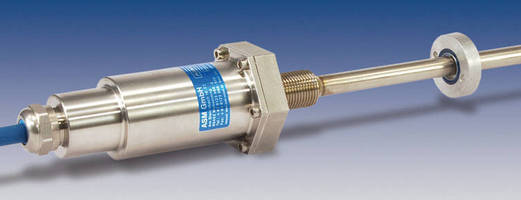 Magnetorestrictive Position Sensor suits hydraulic applications.