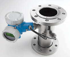 Ultrasonic Flowmeter measures methane content of biogas.