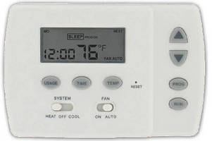 Digital Programmable Thermostats  include heat pump control.