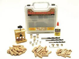 Jig Kit produces professional dowel joints.