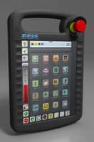 Robot Control System uses tablet PC for programming.