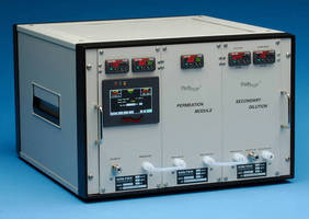 Gas Generation System produces trace sulfur calibrations.