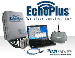 Vibration Monitoring System features wireless operation.