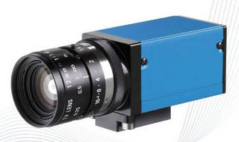 Industrial GigE Camera measures 29 x 29 mm in size.