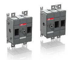 Two-Pole Disconnect Switches target solar applications.