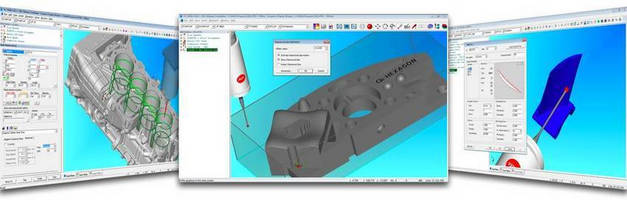 Metrology Software prevents collisions between part and probe.