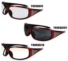 Safety Eyewear have contemporary design with nylon frame.