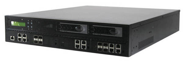 Network Appliance (2U) leverages Intel Sandy Bridge processors.