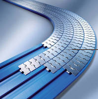 Flat Top Chain Magnetic Curves help convey products smoothly.