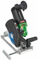 Heavy-Duty 7 in. Portable Saw smoothly cuts wet/dry stone.