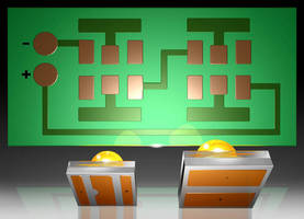 PCB Solder Pad accommodates 2 different LED types.