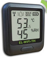 Wi-Fi Enabled DataLogger records temperature and humidity.