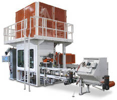 Vertical Auger Bagging System offers dust-free operation.