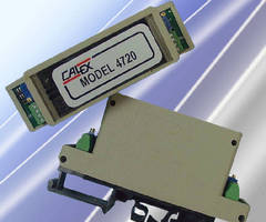 Signal Conditioner supports load cells and strain gauges.