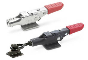 Metric Latch-Type Toggle Clamps include locking feature.