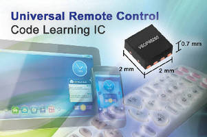 Code Learning IC integrates signal detection and processing.