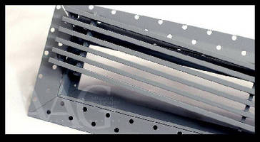 HVAC Linear Bar Grille provides borderless installation.