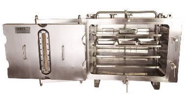 Tray Dryer provides optimum heat uniformity.