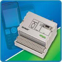 Telecontrol I/O Modules support SMS-based monitoring, control.