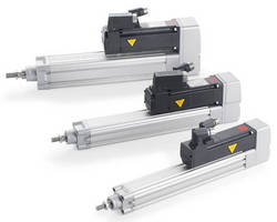 Servo Actuators can replace conventional pneumatic cylinders.