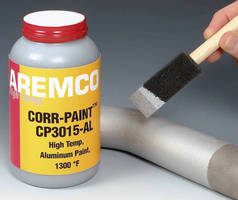 Corrosion Protective Coating serves applications to 1,300�F.