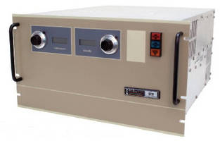 High Voltage Power Supplies deliver 6 kW in 6U chassis.