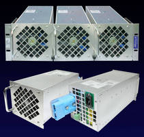 Rack-Mount Power System supports 3 hot-pluggable 1.5 kW modules.