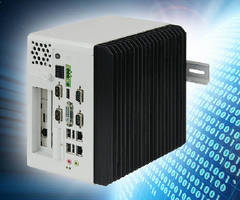 Industrial Panel PCs can be DIN rail mounted if required.