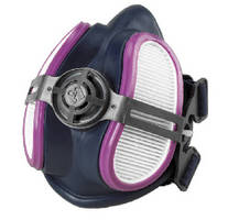 Half Mask Respirator features low-profile design.