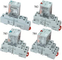 Electromechanical Relays offer SPDT/DPDT/3PDT/4PDT outputs.