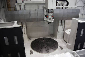 Vertical Turning Center features 5 m hydrostatic table.