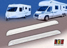 Door Entry Lamp Housings suit trucks, caravans, and motor homes.