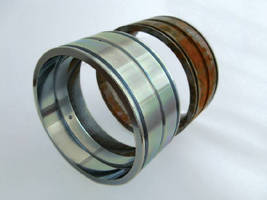 Galvanic Coating protects bearings against corrosion.