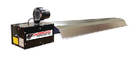 Infrared Radiant Tube Heaters  offer 99+% efficient reflectors.