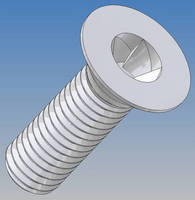 Tamper-Proof Fastener secures sensitive equipment.