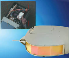 Gyro-Stabilized 4-Axis Camera System is designed for small UAVs.