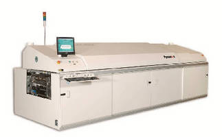 Solder Reflow Oven features dual-lane, dual-speed design.