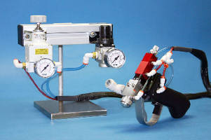Hand-Held Spray Guns handle medium- and high-viscosity fluids.