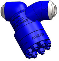 Y-Type Strainer is rated to ASME Class 2500 standards.