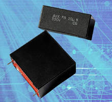 DC Link Film Capacitors suit power supply applications.