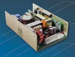 AC-DC Power Supplies offer power density of 12.5 W/in�.