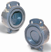 Wafer Check Valves are designed for optimal flow properties.